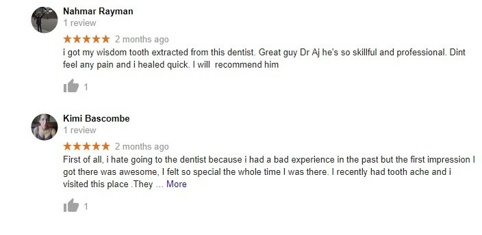 Dentist near me Reviews